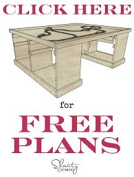 train table plans diy train or table shanty 2 chic