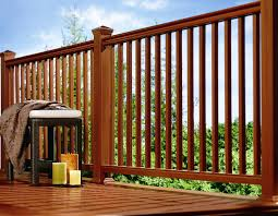 complete your deck with style and safety about deck railings