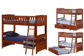 Cherry Bunk Bed Cherry Wood Futon Bunkbed Cinnamon Futon The