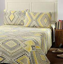 Bedding Quilt Sets Tache Home Fashion Kst1503 3 Modern Yellow