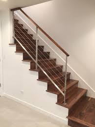 Iron Stairs Design Modern Railings Custom Stairs Chicago Modern Staircase Design