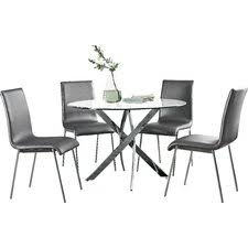Modern  Contemporary Dining Room Sets AllModern - Black dining room sets