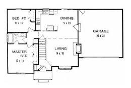 plan 0884 ranch style starter home w hollywood bath