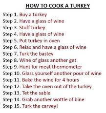 how to cook a turkey thanksgiving wine https