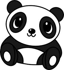 easy drawings of pandas how to draw a cute panda bear youtube