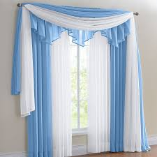 Sheer Swag Curtains Valances Charming Blue Curtain Valance 129 Blue And Yellow Plaid Valance Curtain Brylanehome C A C Jpg
