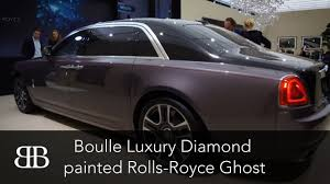 diamond rolls royce jean boulle luxury diamond painted rolls royce ghost at geneva
