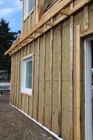 how to attach a thick layer of exterior insulation