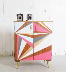 eclectic style get an eclectic style with geometry in furniture