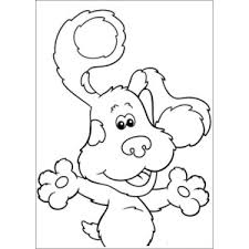http www squidoo printable blues clues coloring pages