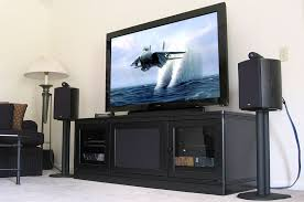 Entertainment Center Credenza Tv Stands And Entertainment Centers For Large Big And Bulky