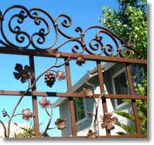 roseville ornamental iron fabrication wroght iron roseville