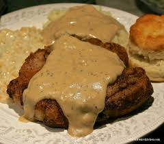 southern fried pork chops with country gravy wildflour u0027s cottage
