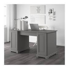 Gray Computer Desk Back Liatorp Desk Gray 0403509 Pe565568 S4 Mamakea