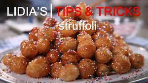 Lidia Bastianich Recipes Struffoli Recipe Youtube