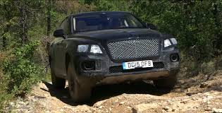 bentley bentayga 2015 bentley bentayga suv hits the nurburgring