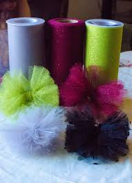 tulle hair bows diy tulle hair bow tutorial d i y crafts printables