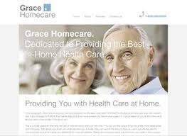 home healthcare website template wix