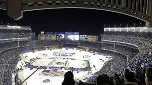 new york hockey rivalry takes stage at yankee stadium mlb com