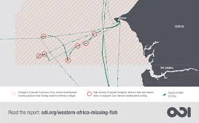 Western Africa Map by Western Africa U0027s Missing Fish The Impacts Of Illegal Unreported
