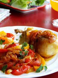 cuisine poulet basquaise recette poulet basquaise le cuisine de samar