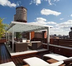 natural elegant design of the modern deck designs that has grey