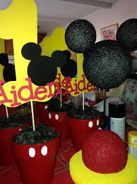 mickey mouse center pieces 1st birthday mickey mouse ideas