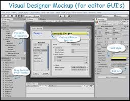 designer windows concept visual designer for unity editor windows unity community