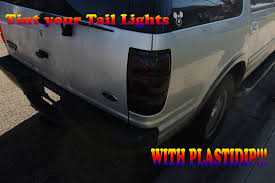 blacked out tail lights legal how to properly tint your tail lights with plastidip youtube