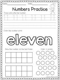free printable tracing numbers 11 20 worksheets one of a set