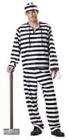 amazon com california costumes jailbird man costume clothing