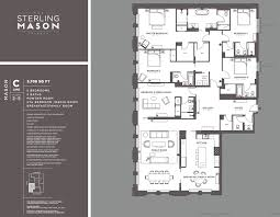Kaufman Lofts Floor Plans by Sterling Mason 71 Laight St Morris Adjmi Archive Wired New