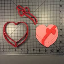 heart chocolate box chocolate box 100 cookie cutter set
