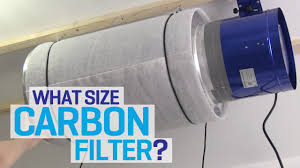 carbon filter fan for grow room what size carbon filter and inline extraction fan for my grow room