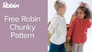 knitting pattern baby sweater chunky yarn free robin chunky knitting patterns loveknitting blog