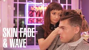skin fade u0026 wave haircut u0026 hairstyle tutorial with stephen james