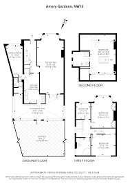 the amery floor plan 4 bed semi detached house for sale in amery gardens london nw10