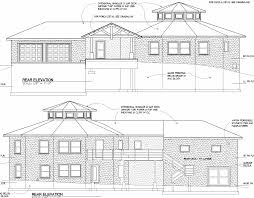 floor plan and elevation drawings round house elevation architect drawing home building plans 7454