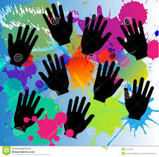 color hands background royalty free stock image image 36234036