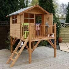 Backyard Cedar Playhouse by Kids Wood Playhouse Foter