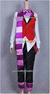 Butler Halloween Costume Black Butler Cosplay Grell Sutcliff Cheshire Cat Costume