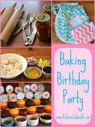 Baking Favors by Baking Birthday For Of Any Age Favors