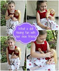 Dolly And Me Clothing Dollie U0026 Me Doll And Matching Review