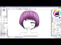 tutorial easiest color anime hair mouse