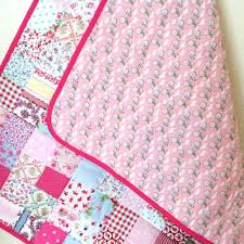 Shabby Chic Baby Bedding For Girls by Modern Baby Blanket Retro Baby Quilt From Angiespatch