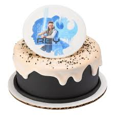 wars edible cake toppers a birthday place cake toppers wars the last jedi