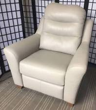 Grey Leather Armchair G Plan Leather Armchairs Ebay
