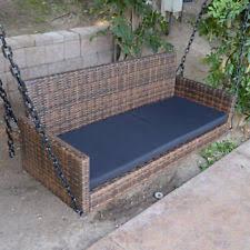 wicker swing ebay