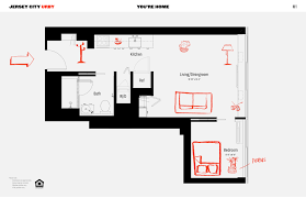Rental House Plans by Rentals At Urby U0027s Jersey City Skyscraper Hit The Market From