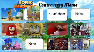 Sonic Boom Meme - sonic boom controversy meme by pikagirl270 on deviantart